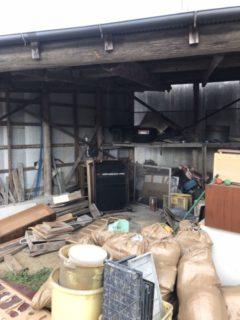 福津市、建て替えに伴う解体