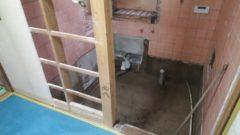 宗像市、浴室解体