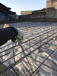 福津市、新築シロアリ工事(土壌処理)
