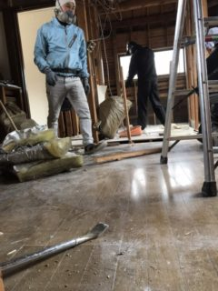 那珂川市、リノベーションに伴う解体